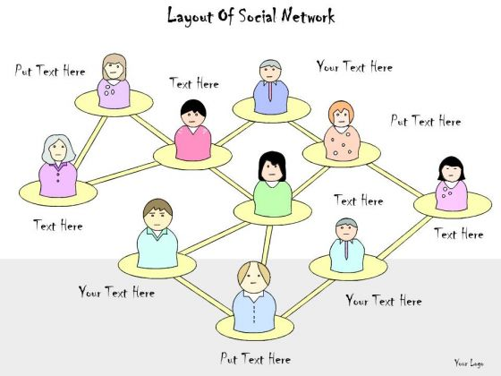 Ppt Slide Layout Of Social Network Business Plan