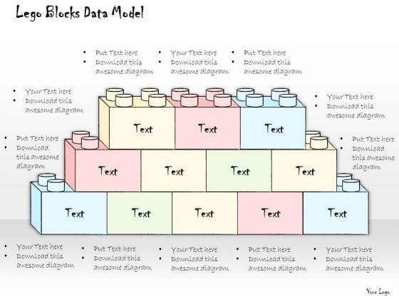 Ppt Slide Lego Blocks Data Model Consulting Firms