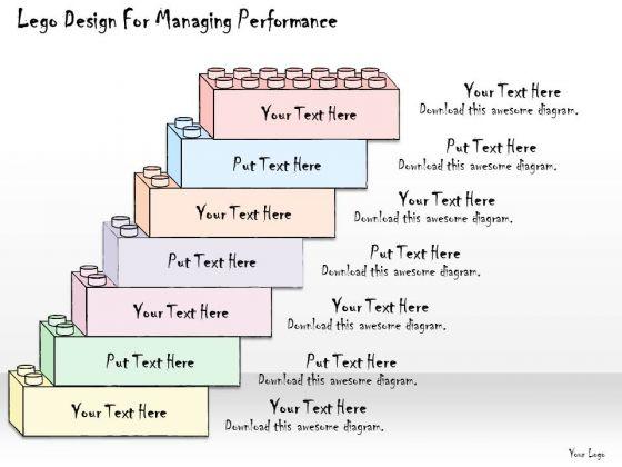 Ppt Slide Lego Design For Managing Performance Business Plan