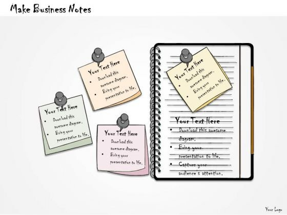 Ppt Slide Make Business Notes Plan