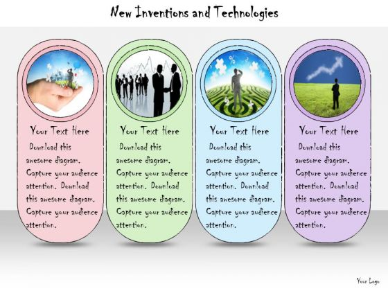 Ppt Slide New Inventions And Technologies Business Diagrams
