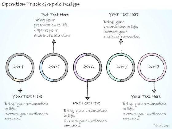 Ppt Slide Operation Track Graphic Design Sales Plan