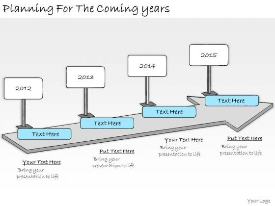 Ppt Slide Planning For The Coming Years Consulting Firms