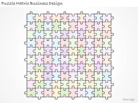 Ppt Slide Puzzle Matrix Business Design Sales Plan