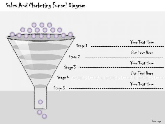 Ppt Slide Sales And Marketing Funnel Diagram Strategic Planning