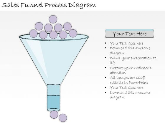 Ppt Slide Sales Funnel Process Diagram Consulting Firms