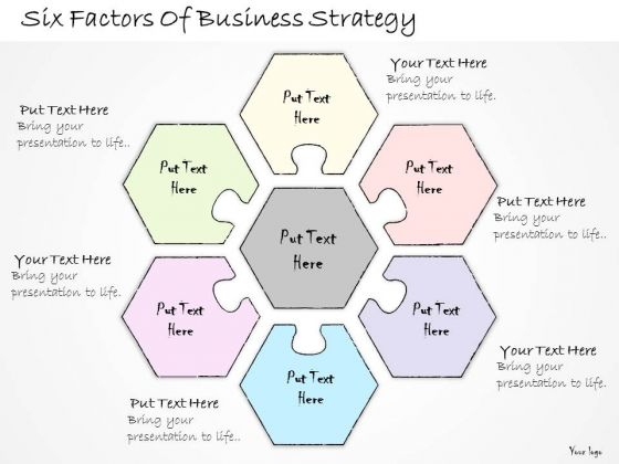 Ppt Slide Six Factors Of Business Strategy Consulting Firms