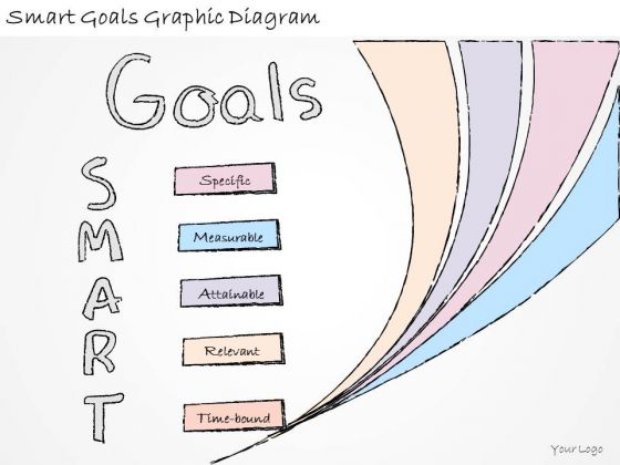 Ppt Slide Smart Goals Graphic Diagram Business Diagrams