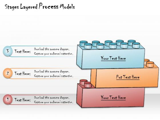 Ppt Slide Stages Layerd Process Models Business Diagrams