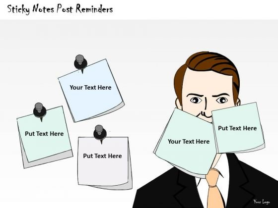 Ppt Slide Sticky Notes Post Reminders Consulting Firms