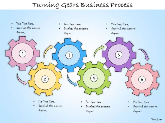 Ppt Slide Turning Gears Business Process Strategic Planning