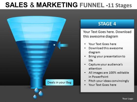 Ppt Slides Funnel Diagrams