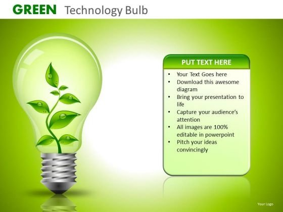 Ppt Slides Green Corporate Policy And Ideas PowerPoint Templates