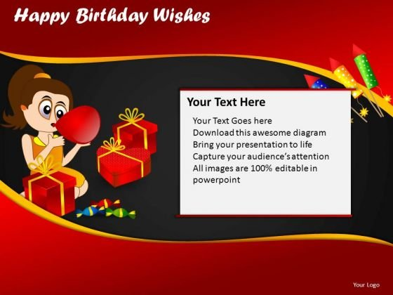 Ppt Slides Happy Birthday Kids Download