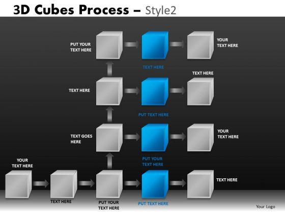 Ppt Slides Process Flowchart Diagram PowerPoint Templates