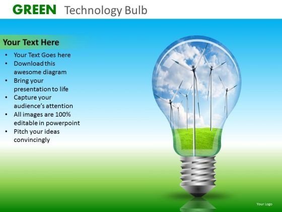 Ppt Slides Wind Energy Renewable Energy PowerPoint Templates