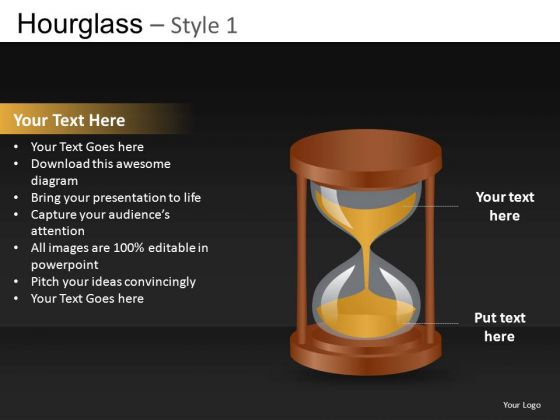 Ppt Slides With Hourglass Images