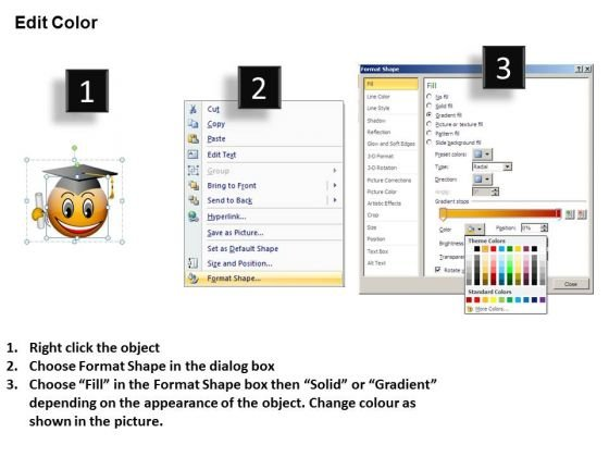 ppt_smiley_emoticon_with_graduation_degree_and_cap_process_powerpoint_templates_3