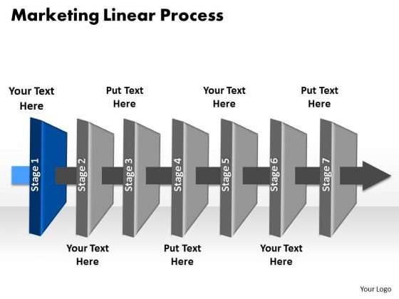 Ppt Stage 1 Mobile Social Media Presentation Beeline Process PowerPoint Templates