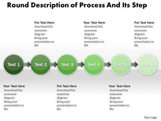 Ppt Straight Description Of Process And Its Step PowerPoint Templates