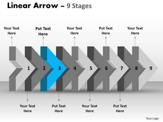 Ppt Template Beeline Flow Arrow Free Fishbone Diagram PowerPoint 4 Image