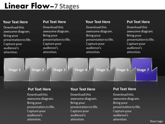 Ppt Template Multicolored Sequential International Marketing PowerPoint Slides Flow 8 Graphic