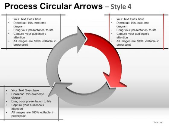 Ppt Templates Business Process Cycle Diagram PowerPoint Slides