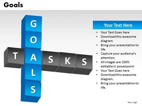 Ppt Templates Goals And Tasks Business PowerPoint Slides