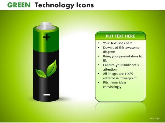 Ppt Templates Green Electricity Sources PowerPoint Slides