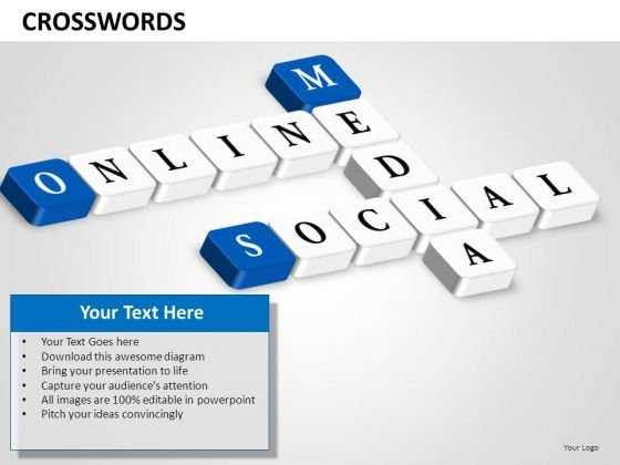 Ppt Templates Online Social Media PowerPoint Slides