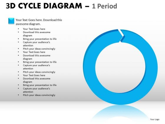 Ppt Templates Single Stage Process Cycle Diagram PowerPoint Slides