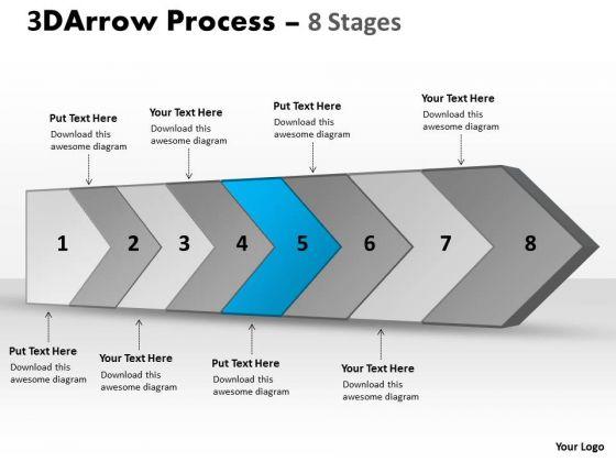 Ppt Theme Continous Business Representation Magazines PowerPoint Tips Flow Diagram 6 Design