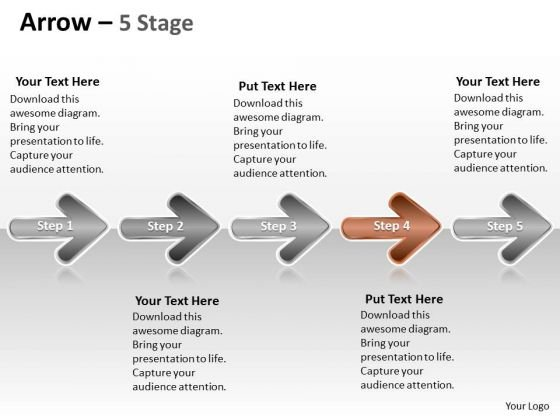 Ppt Theme Evolution Of 5 Stages Marketing Plan Communication Skills PowerPoint Design