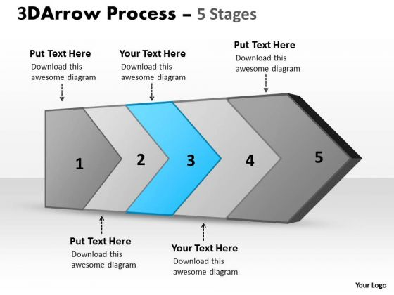 Ppt Theme Five Stages Of Successful Concept Design PowerPoint Template Download Plan 4
