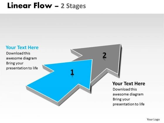 Ppt Theme Progression Of 2 Phase Diagram Flow Spider PowerPoint Template Graphic