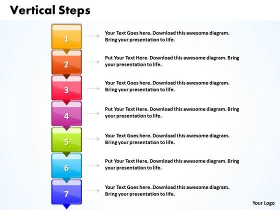 Ppt Vertical Practice The PowerPoint Macro Steps 7 Templates