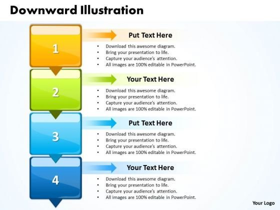 Ppt Vertical Scientific Method Steps PowerPoint Presentation 4 Templates