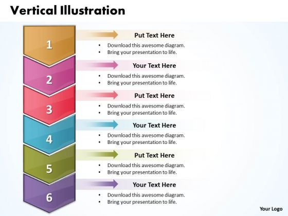 Ppt Vertical Scientific Method Steps PowerPoint Presentation 6 1 Templates