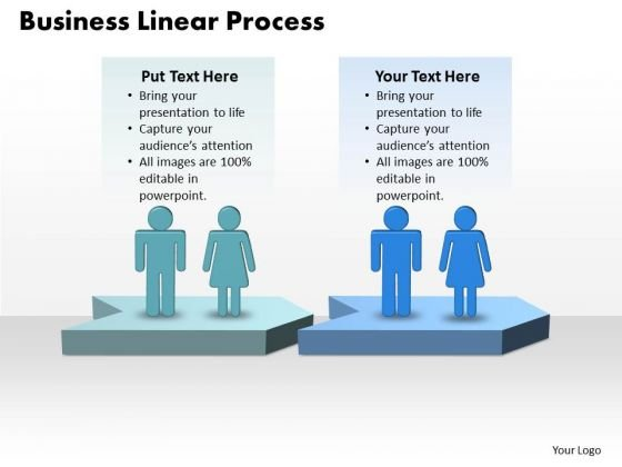 Ppt World Business Presentation Linear Process Diagram PowerPoint Templates