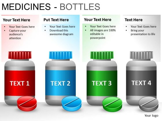 Prescription Medical Bottle PowerPoint Slides And Ppt Diagram Templates