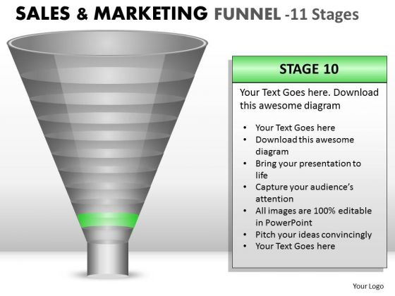 Present Marketing Strategy Funnel PowerPoint Slides And Ppt Diagram Templates