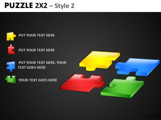 Present Strategy With Puzzles PowerPoint Slides And Editable Ppt Templates