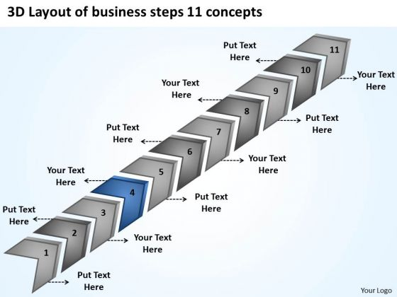 Presentation Steps 11 Concepts How To Construct Business Plan PowerPoint Templates