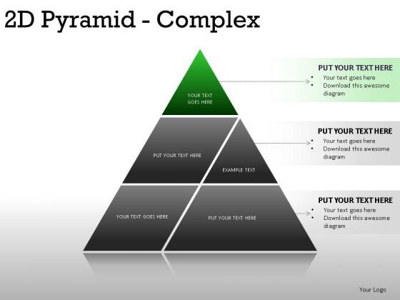 Priority 2d Pyramid Complex PowerPoint Slides And Ppt Diagram Templates