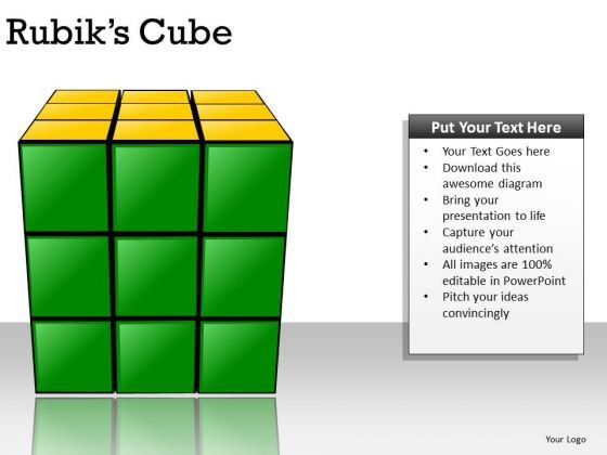 Problem Rubiks Cube PowerPoint Slides And Ppt Diagram Templates