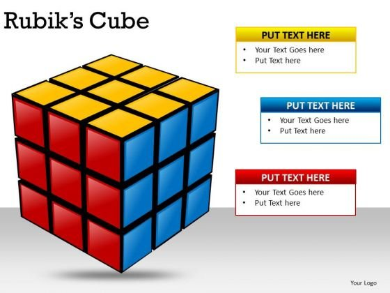 Problem Solved Solution Rubiks Cube PowerPoint Slides And Ppt Diagram Templates