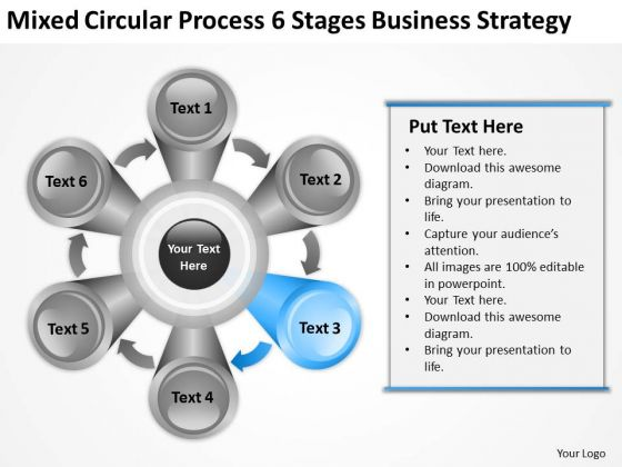 Process 6 Stages Business Planning Strategy Ppt Sales PowerPoint Templates