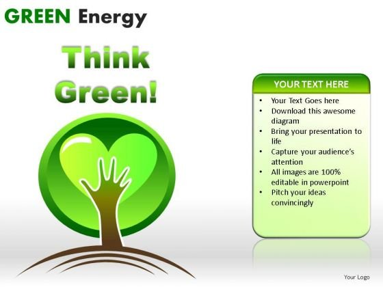 Process And Flows Green Energy PowerPoint Slides And Ppt Diagram Templates