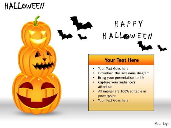 Process And Flows Halloween PowerPoint Slides And Ppt Diagram Templates