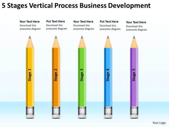 Process Business Development Writing A Plan For Restaurant PowerPoint Templates
